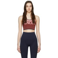 Lndr Pink And Red A Team Sports Bra