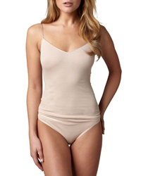 Hanro Cotton Seamless Camisole Skin Skin Small