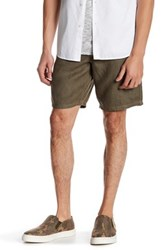John Varvatos Linen Short Green