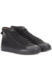 Raf Simons Spirit High Sneakers Black
