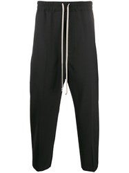 Rick Owens Cropped Tapered Track Pants 60