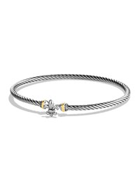 Cable Collectibles Fleur De Lis Bracelet With Gold David Yurman Multi Colors