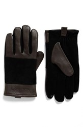 Timberland Men's Suede Gloves Brown