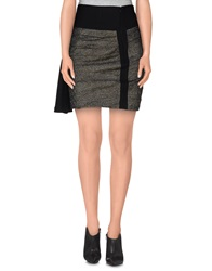 Gaetano Navarra Mini Skirts Black