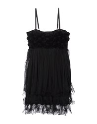 Poems Dresses Short Dresses Women Black