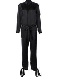 By. Bonnie Young Long Sleeve Jumpsuit Black