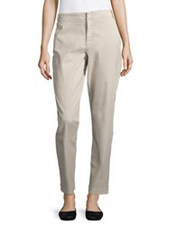 Nydj Relaxed Fit Cotton Blend Chinos Stone