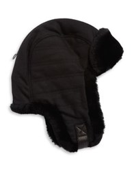 Ugg Woven Shearling Trapper Hat Spruce