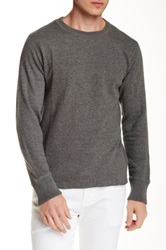 Relwen Thermal Crew Neck Sweater Gray