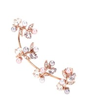Joanna Laura Constantine Rose Gold Plated Ear Cuff With Swarovski Crystals