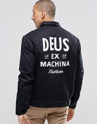 Deus Ex Machina Workwear Jacket Black