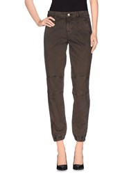 Scee By Twin Set Trousers Casual Trousers Women Brown