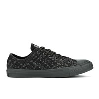 Converse Men's Chuck Taylor All Star Denim Woven Ox Trainers Black Storm Wind Storm Wind