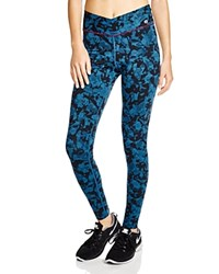 Yummie Tummie Yummie By Heather Thomson Hannah Leggings Abstract Print