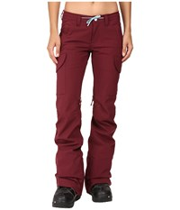 Burton Twc Nexterday Pant Sangria Women's Casual Pants Red