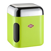 Wesco Square Canister With Window Lime Green