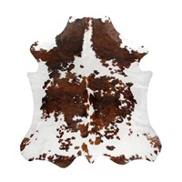 Natures Collection Argentinian Cow Hide Dark Brown