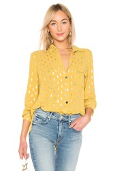 House Of Harlow X Revolve Devina Button Down Mustard