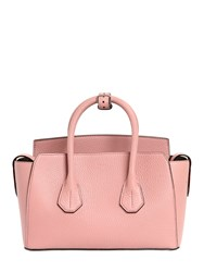 Bally Small Sommet Leather Top Handle Bag