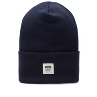 Wood Wood Gerald Tall Beanie Blue