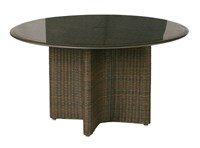 Barlow Tyrie Savannah Woven Circular Dining Table