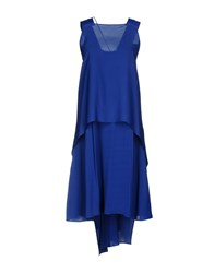 Alysi Knee Length Dresses Bright Blue