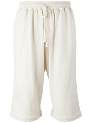 Stampd Glass Chains Sweatshorts White