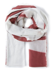Lost And Found 'Labyrinth' Scarf Red