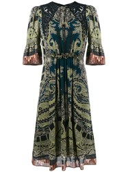 Etro Paisley Print Dress Multicolour