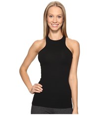 Beyond Yoga Under Lock And Keyhole Tank Top Jet Black Women's Sleeveless