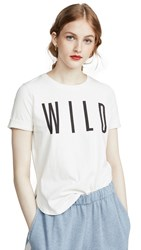 Sol Angeles Wild Slit Tee White