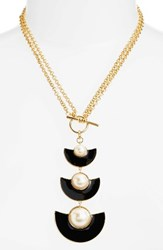 Kate Spade Women's New York Taking Shapes Toggle Necklace