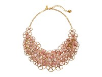 Kate Spade Sunset Blossoms Statement Necklace Blush Multi Necklace Pink