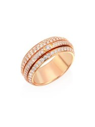 Piaget Possession Diamond And 18K Rose Gold Ring