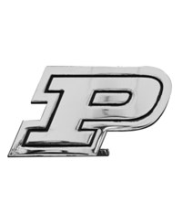 Stockdale Purdue Boilermakers Auto Sticker Chrome