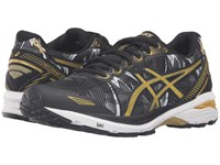 Asics Gt 1000 5 Gr Black Rich Gold Gold Ribbon Women's Running Shoes