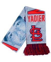 Forever Collectibles Yadier Molina St. Louis Cardinals Sublimated Player Scarf Red