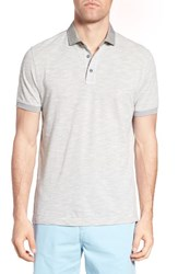 Rodd And Gunn Men's Edenville Cotton Polo Silver