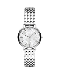 Emporio Armani Ladies' Stainless Steel Watch 32Mm Silver