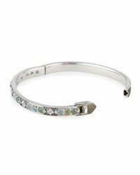 Jude Frances Encore Stone Lisse Bangle Bracelet