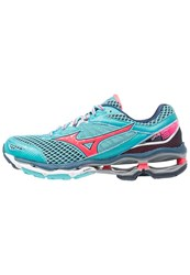 Mizuno Wave Creation 18 Neutral Running Shoes Capri Diva Pink Dress Blues Turquoise