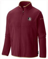 Columbia Men's Florida State Seminoles Fuller Ridge Fleece Jacket Maroon
