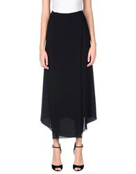Fabrizio Lenzi Long Skirts Black