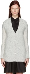 Rag And Bone Grey Cashmere Tamara Cardigan
