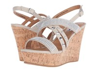 Not Rated Viti Cream Women's Wedge Shoes Beige