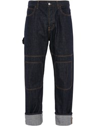 J.W.Anderson Jw Anderson Patched Denim Trousers 60