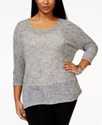 Alfani Plus Size Scoop Neck Dolman Sleeve Top Only At Macy's