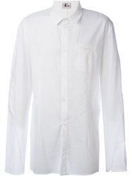 Lost And Found Ria Dunn Wide Sleeve Button Down Shirt White