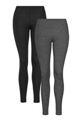 Topshop Multi Pack Leggings Grey