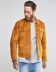 Levi's Type 3 Suede Jacket Borg Lined Camel Suede Brown